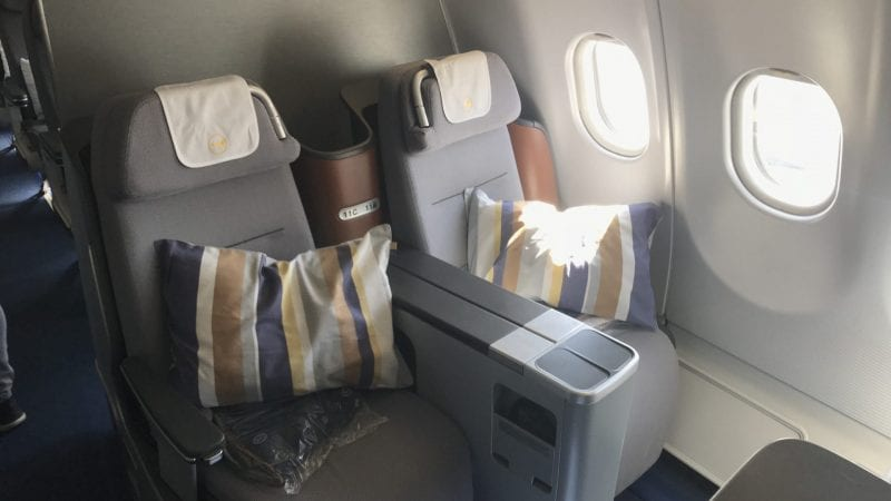 Miles and More eVoucher Business Class