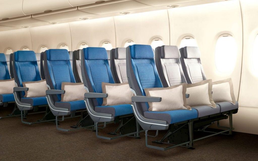 singapore airlines economy class a380 neu