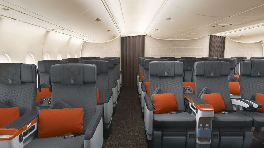 singapore airlines premium economy class a380