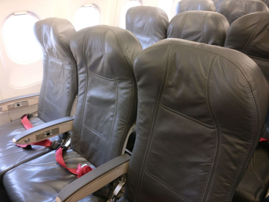 Avianca Economy Class Airbus A320 Seating 2