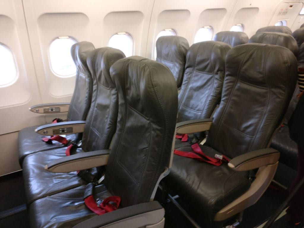 Avianca Economy Class Airbus A320 Seating 4