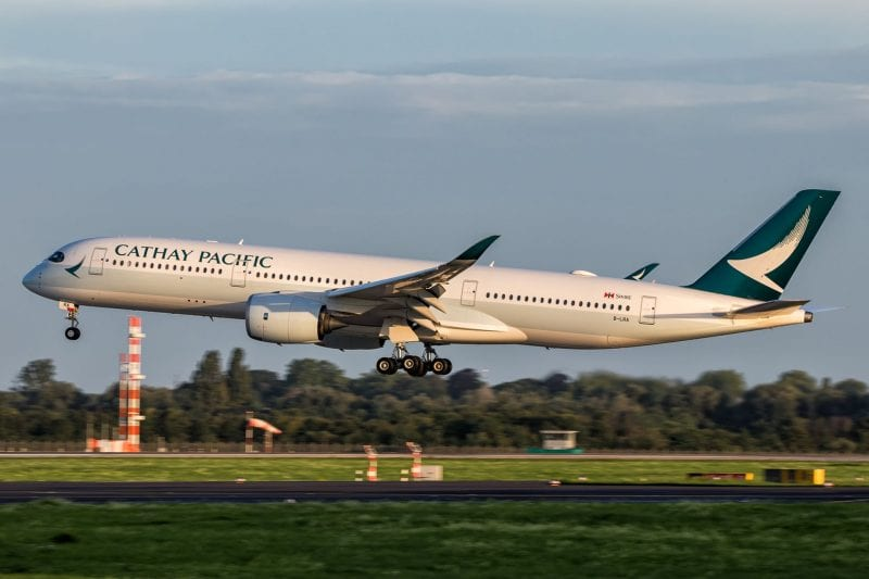 Cathay Pacific Airbus A350