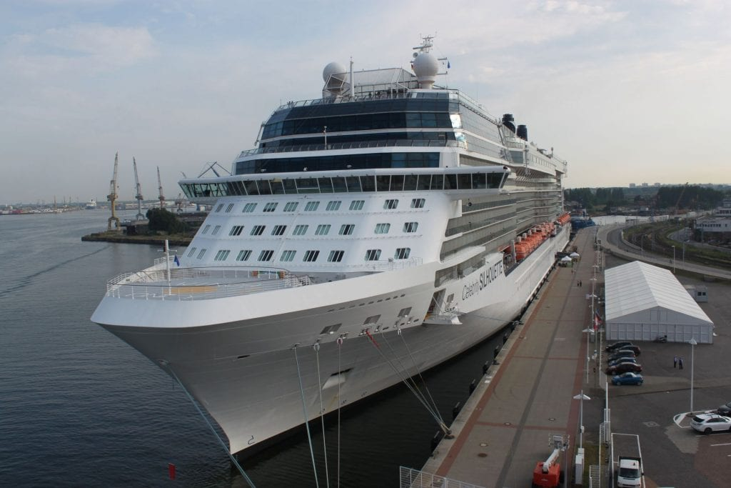 Celebrity Silhouette in Warnemünde