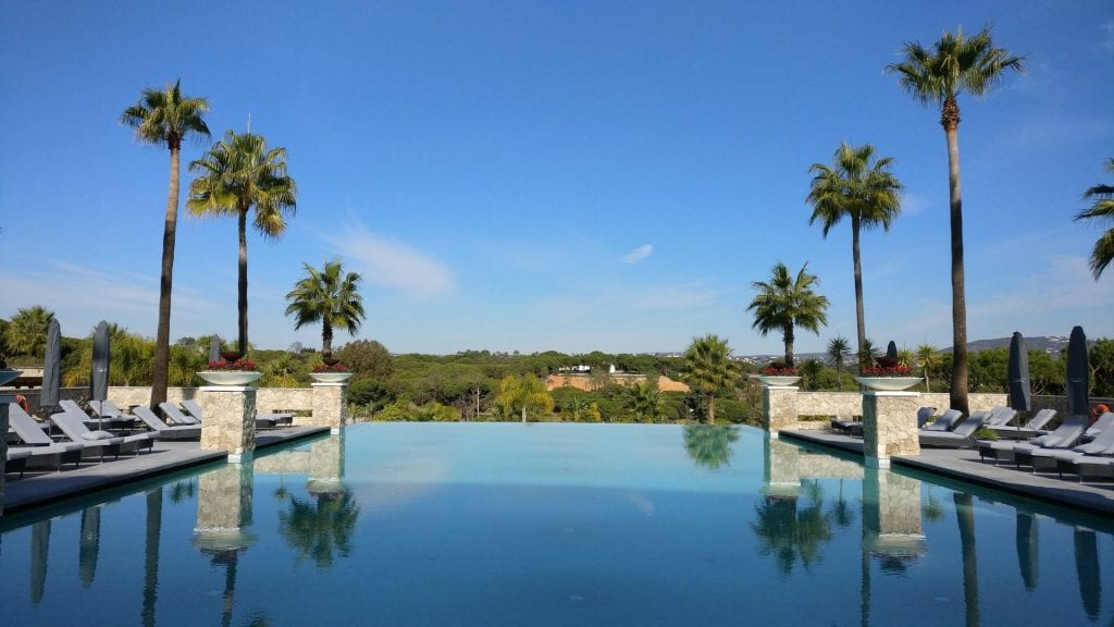 Conrad Algarve Main Pool