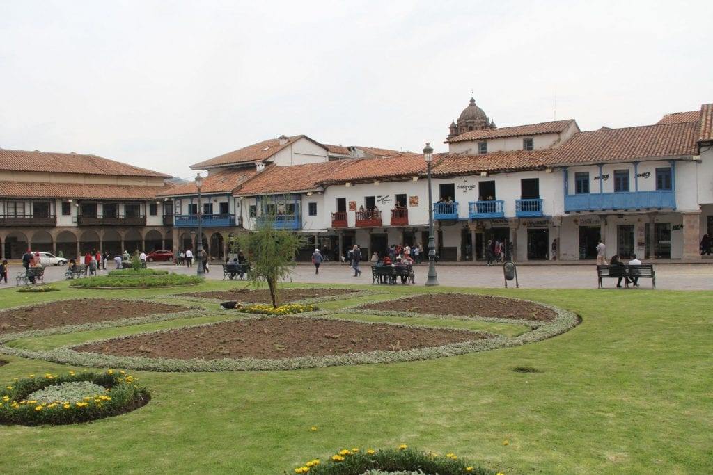 Cusco Plaza de Armas 2