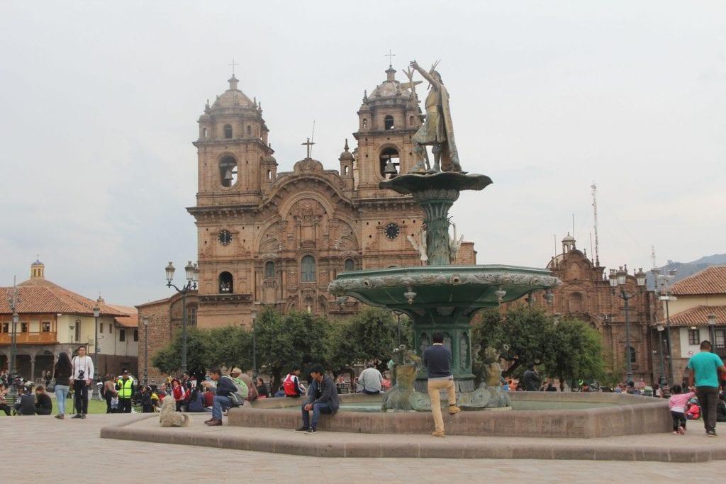 Cusco Templo de la Compania de Jesus
