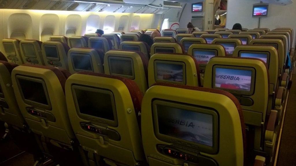 Etihad Airways Economy Class 2