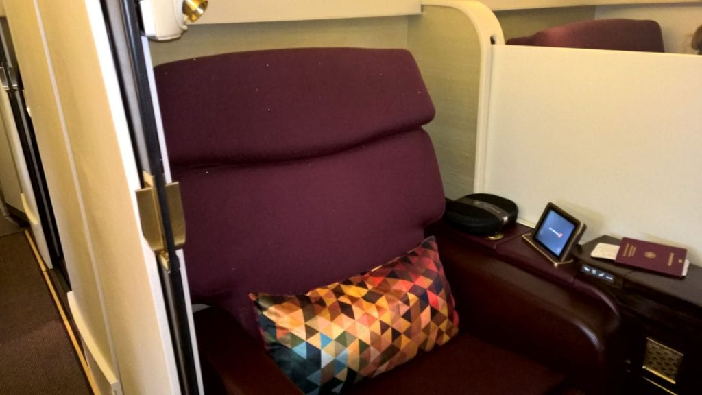 Etihad Airways First Class Suite