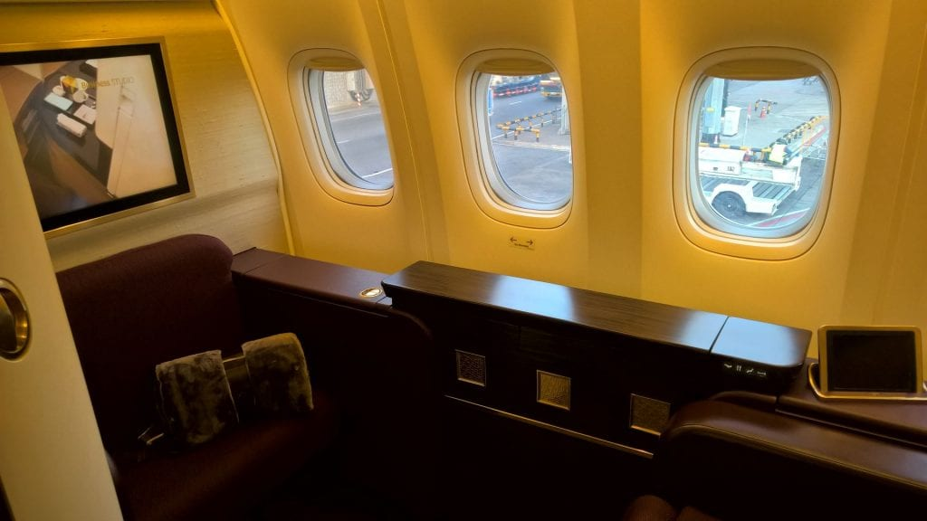 Etihad Airways First Class Suite 2
