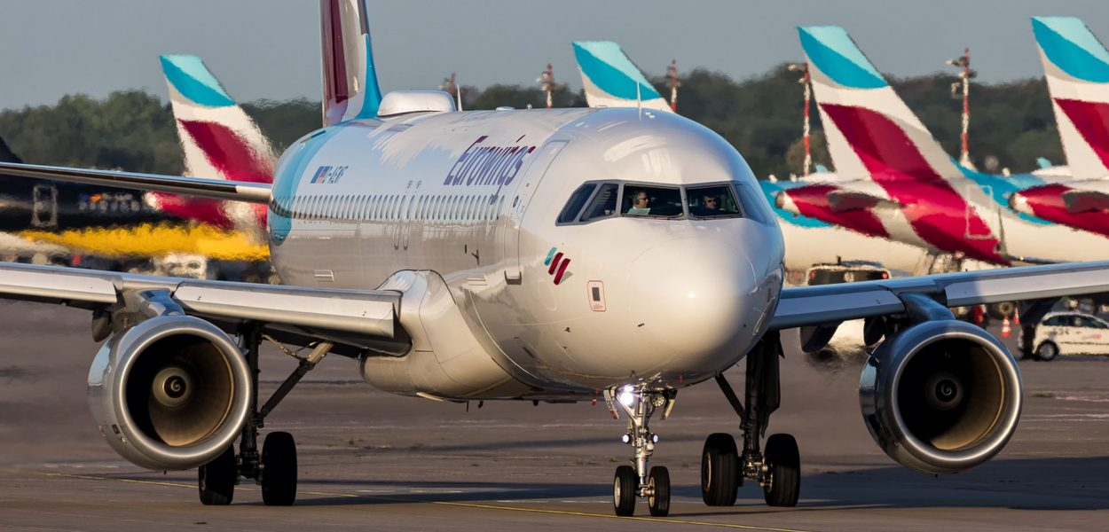 Eurowings Airbus A320 Flugzeug Flotte