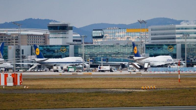 Frankfurt Airport Lufthansa Boeing 747 Flugzeug