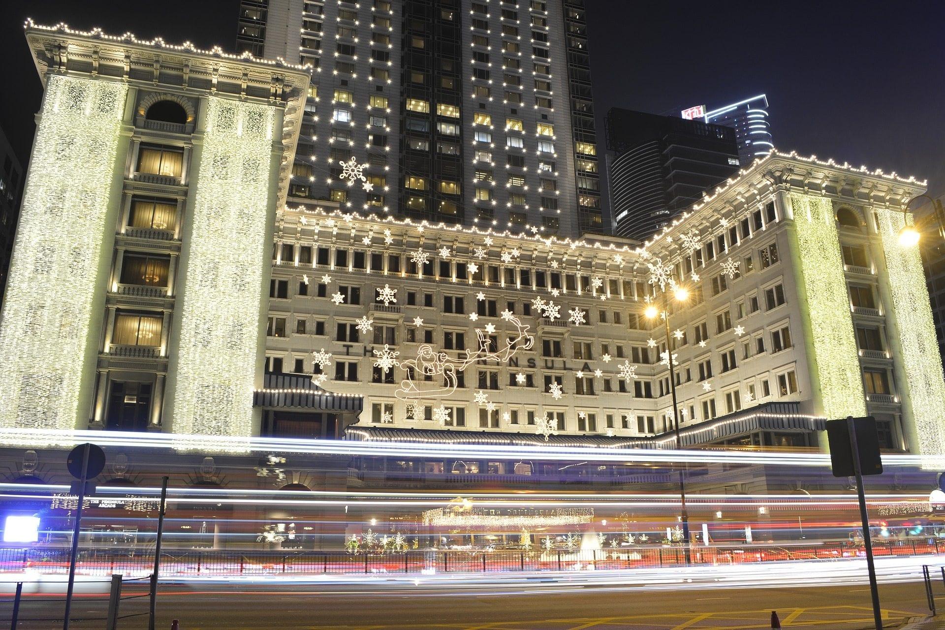 hongkong hotel weihnachten. Black Bedroom Furniture Sets. Home Design Ideas
