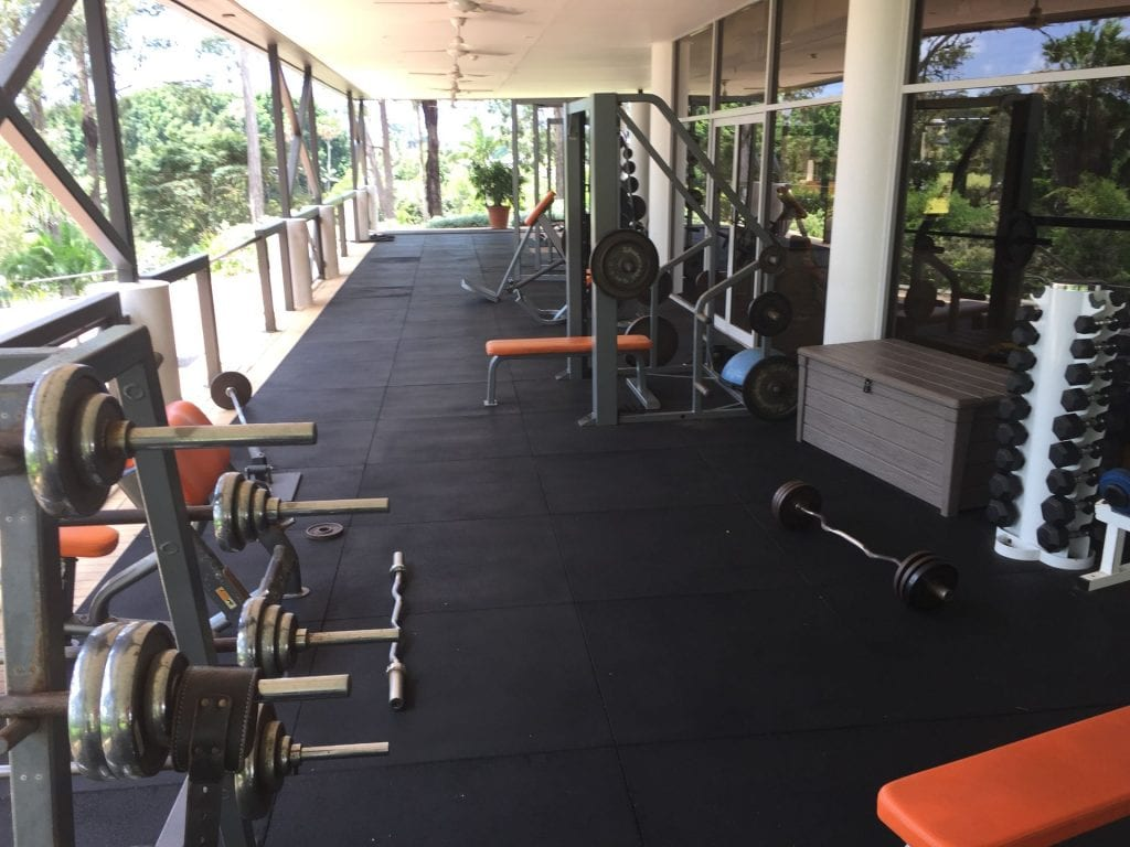 Intercontinental Sanctuary Cove Fitnessstudio im benachbarten Country Club 1