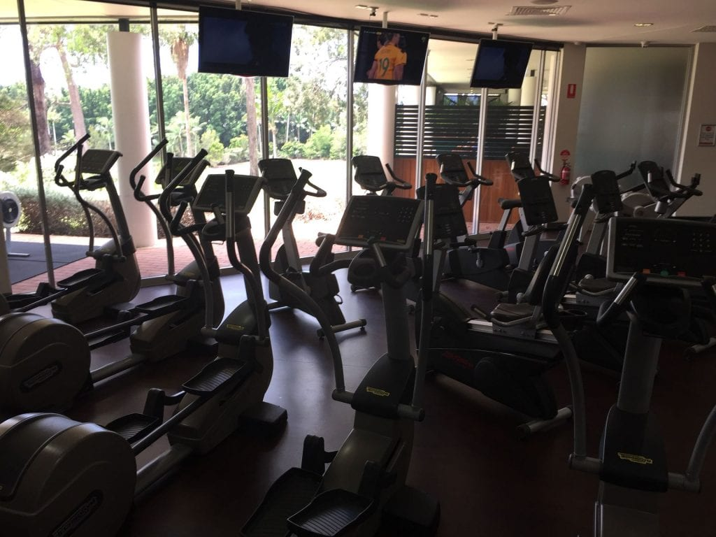 Intercontinental Sanctuary Cove Fitnessstudio im benachbarten Country Club 2
