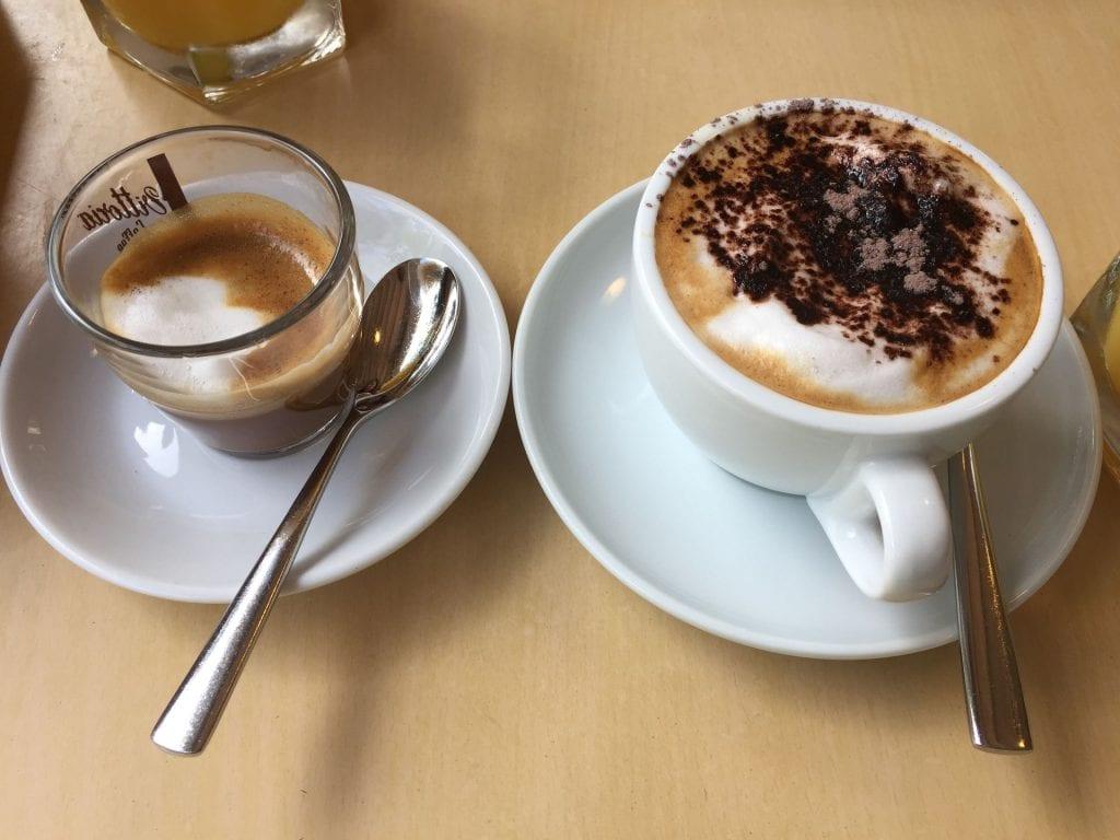 Intercontinental Sanctuary Cove Kaffeespezialitäten zum Frühstück