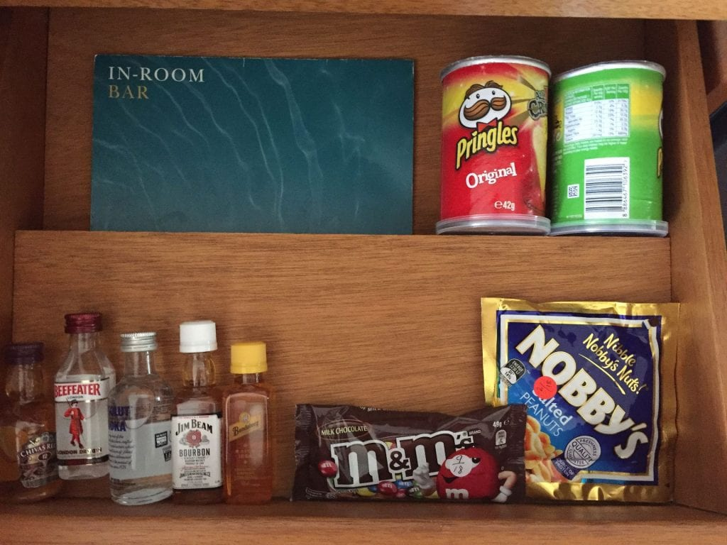Intercontinental Sanctuary Cove Minibar 3