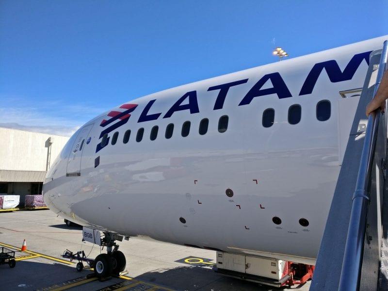 LATAM Boeing 787 2