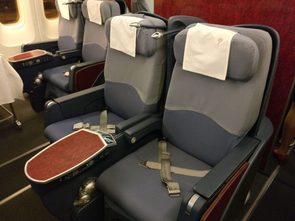 LATAM Business Class Boeing 767 Seat 5