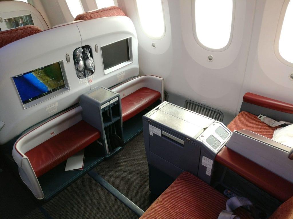 LATAM Business Class Boeing 787 Seat 3