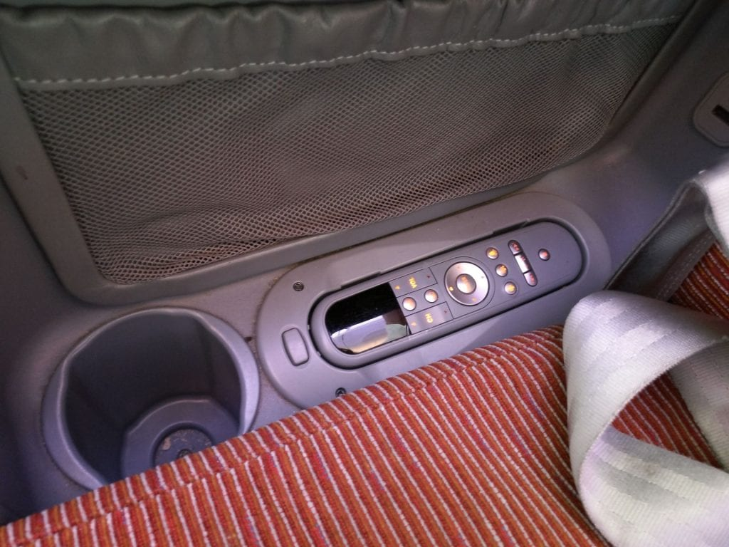 LATAM Business Class Boeing 787 Seat 8