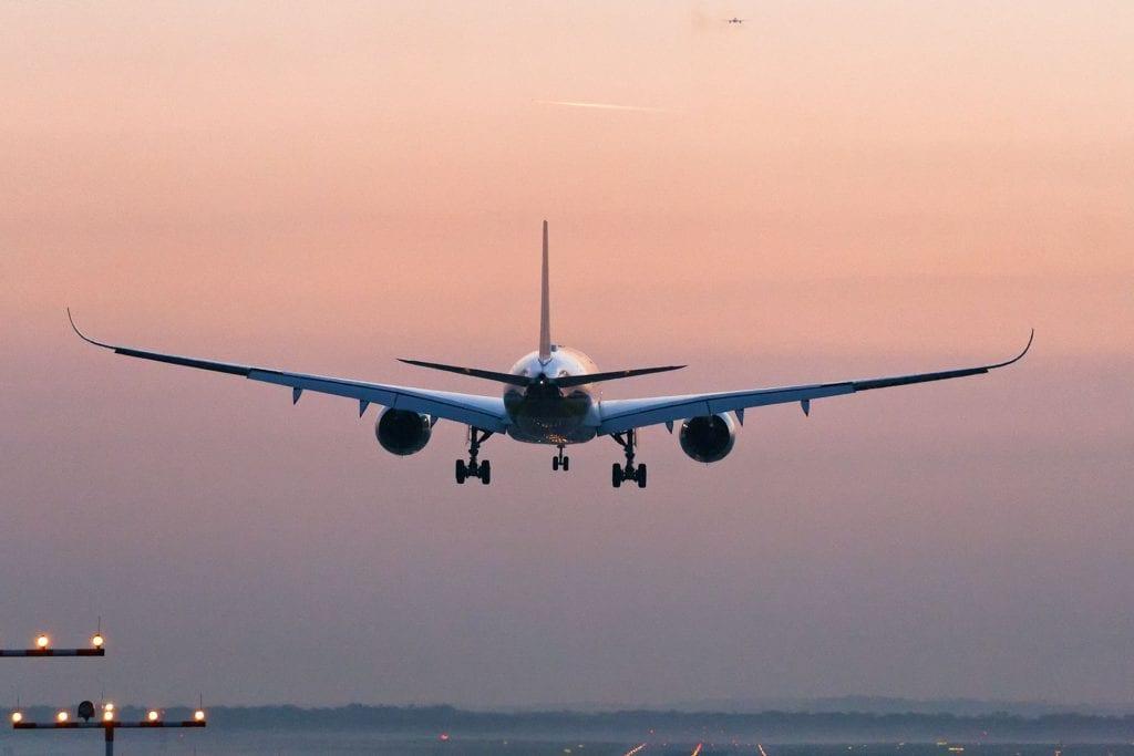 Jetlag Flugzeug