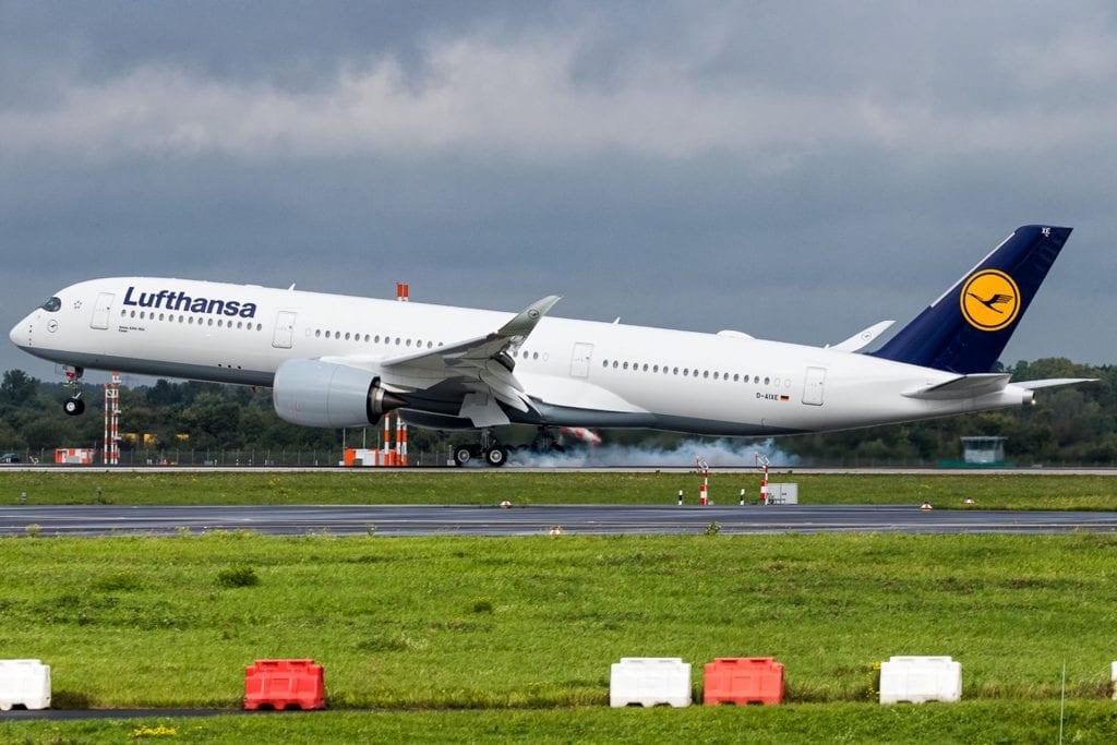 Lufthansa Airbus A350