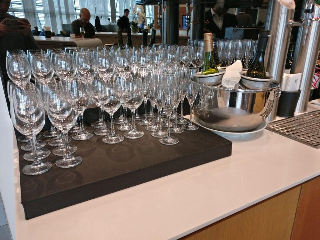 Lufthansa Business Lounge London Buffet 6