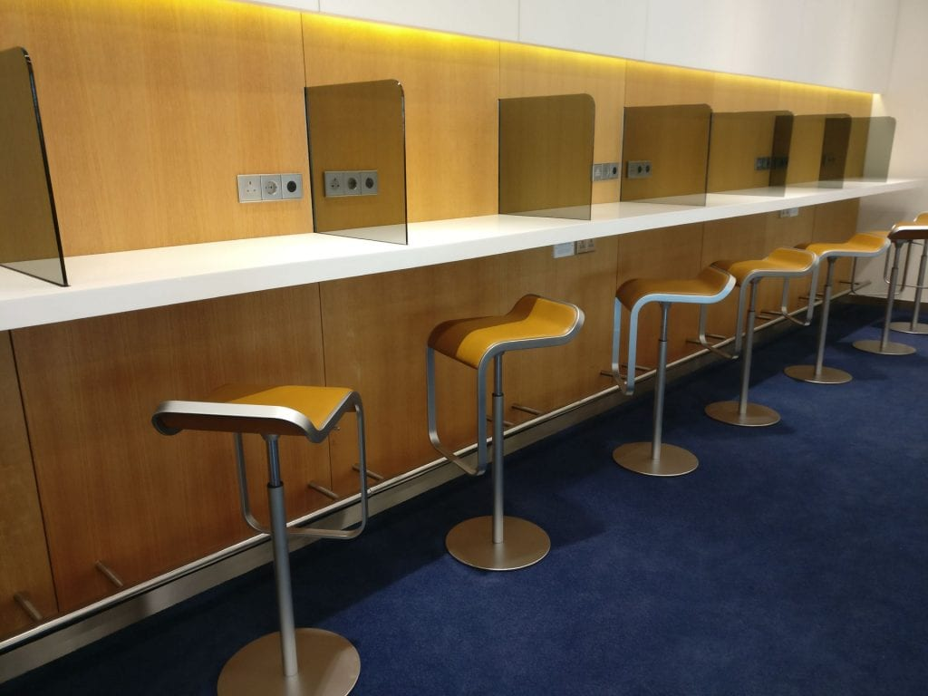 Lufthansa Business Lounge London Business Center