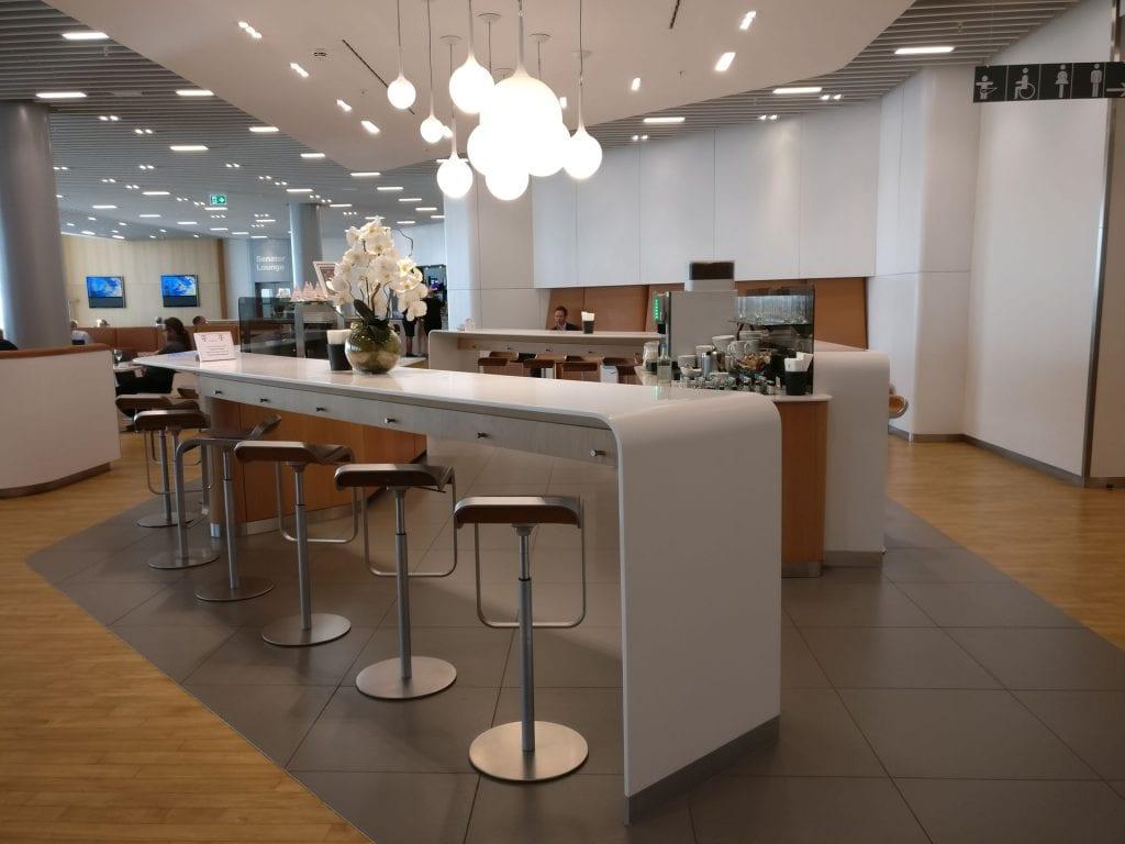 Lufthansa Business Lounge London Seating 8