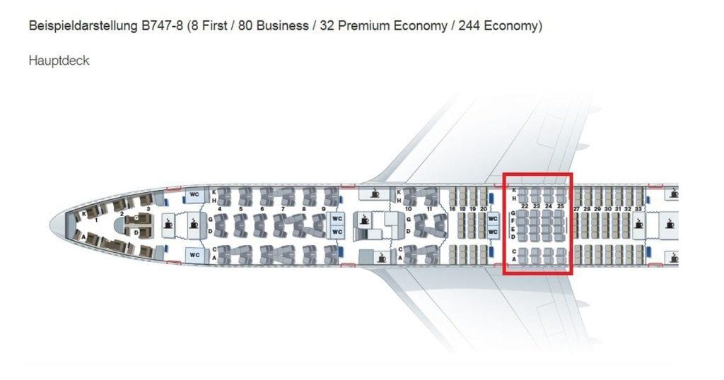 Lufthansa Premium Economy Class Boeing 747 Sitz (3)