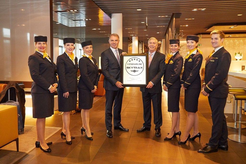 Lufthansa Skytax 5 Sterne