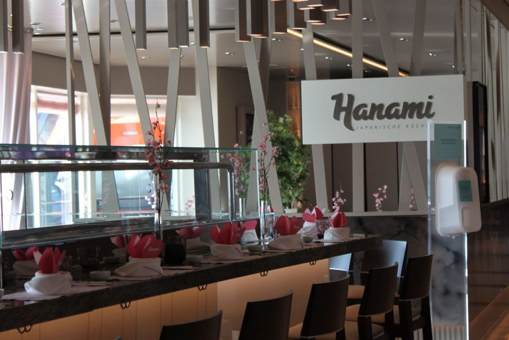 Mein Schiff 4 Hanami (japanisches Spezilitätenrestaurant gegen Aufpreis)