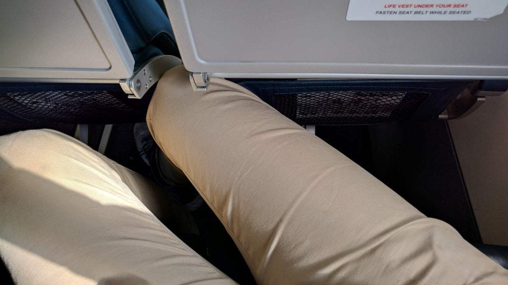 Mistral Air Seat Pitch