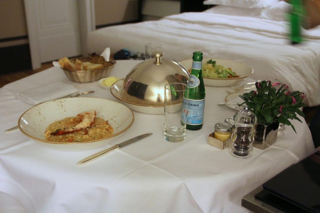 Room Service Rocco Forte Hotel de Rome Berlin