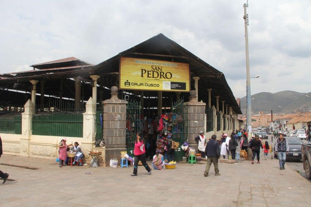 San Pedro Market Cusco