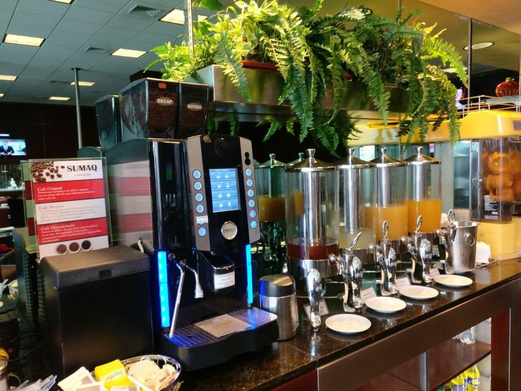 Sumaq VIP Lounge Lima Buffet 2
