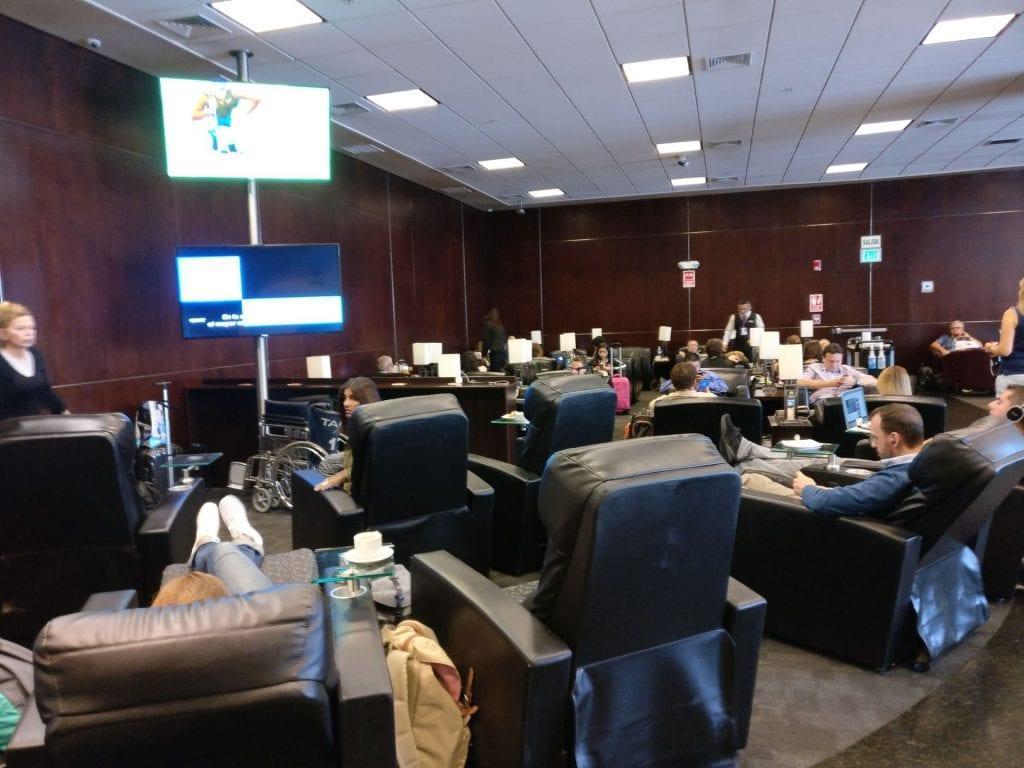 Sumaq VIP Lounge Lima Seating 3