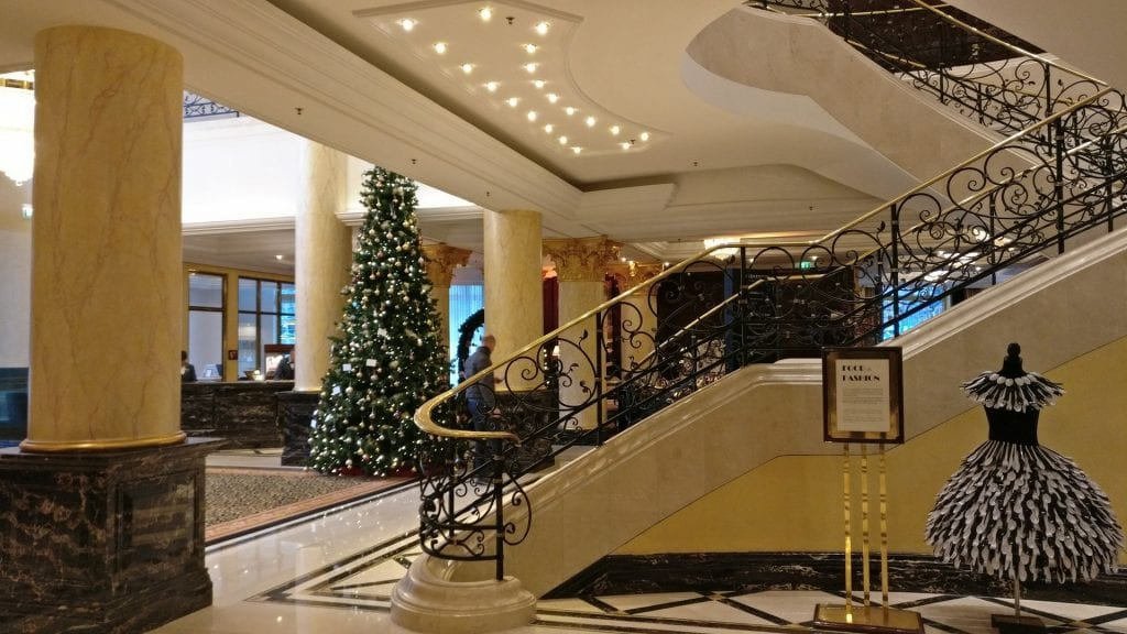 The Ritz Carlton Berlin Lobby