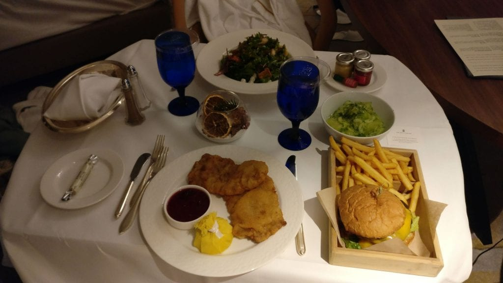 The Ritz Carlton Berlin Room Service Essen Restaurant