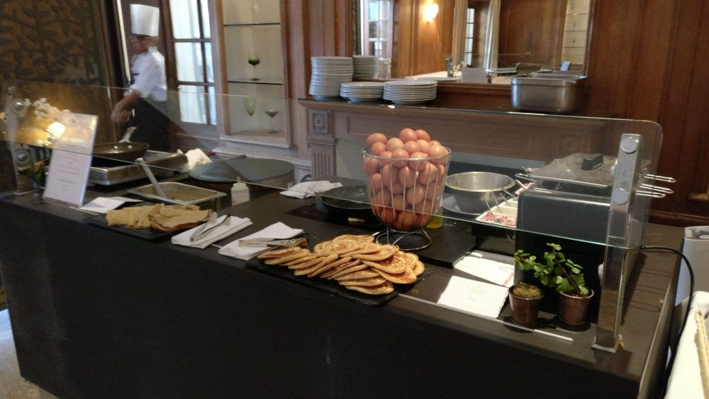 Trianon Palace Versailles Waldorf Astoria Breakfast 9