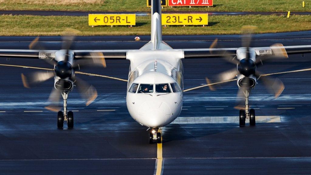 Turboprop Flugzeug Walter airberlin