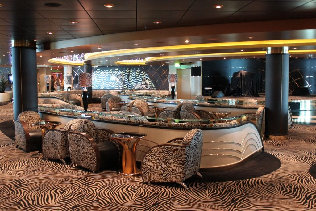 Zebra Bar an Bord der MSC Poesia
