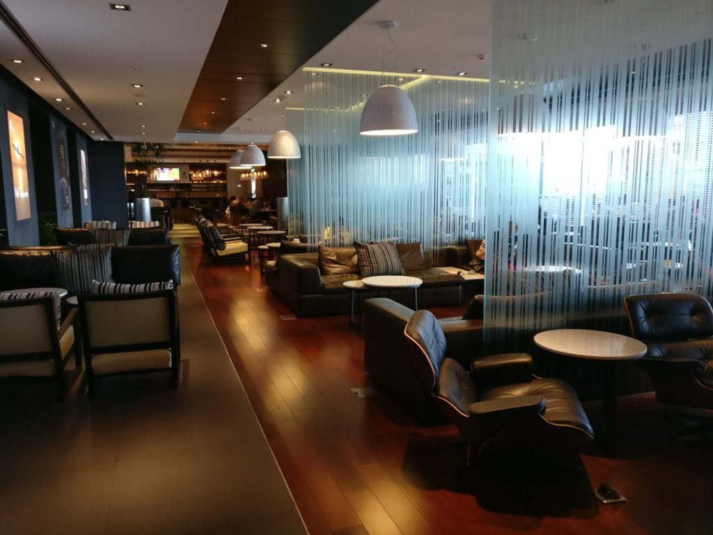 Aeropuertos VIP Club Montevideo Seating 5