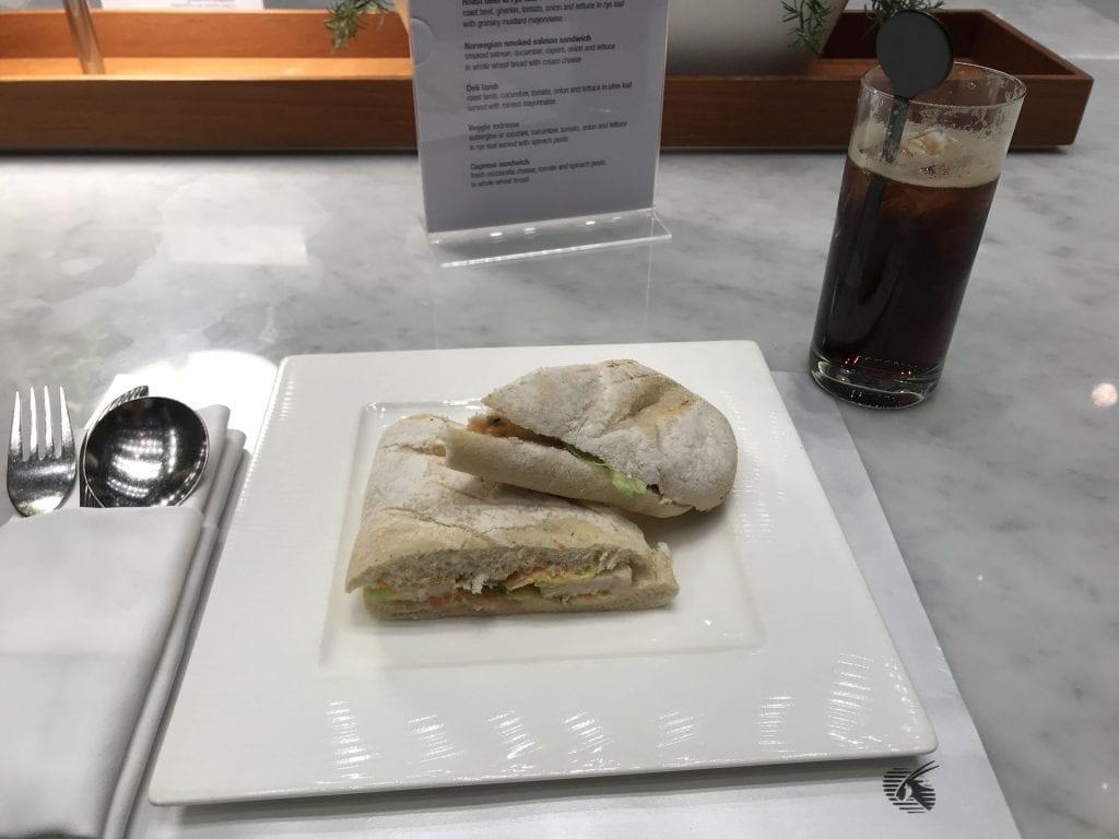 Al Mourjan Business Lounge Doha Sandwiches