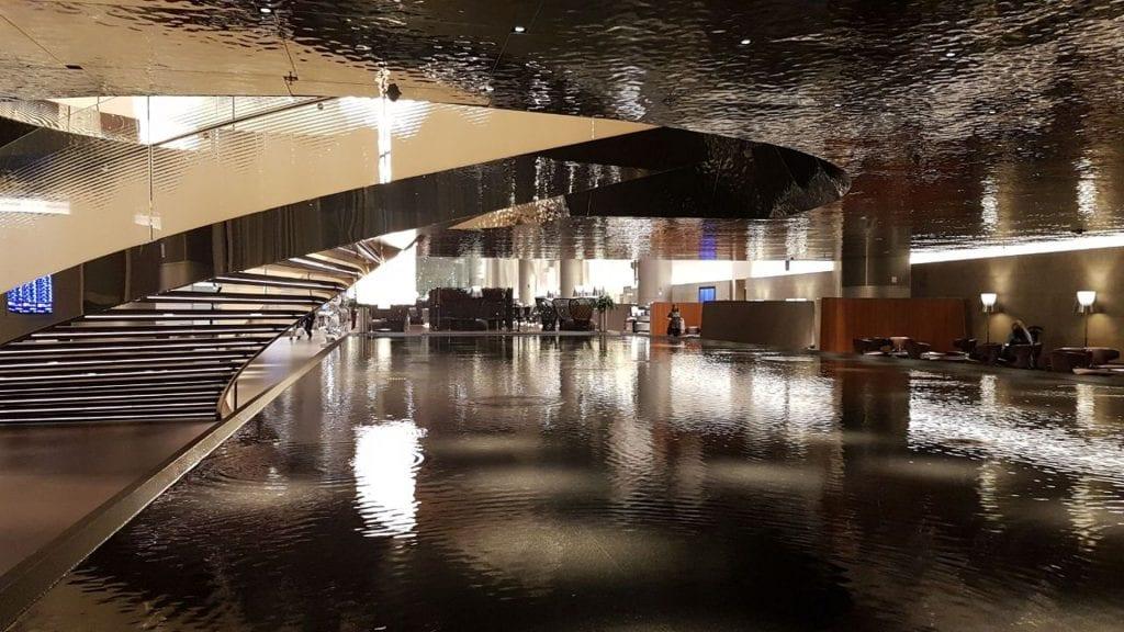 Al Mourjan Business Lounge Doha Sicht