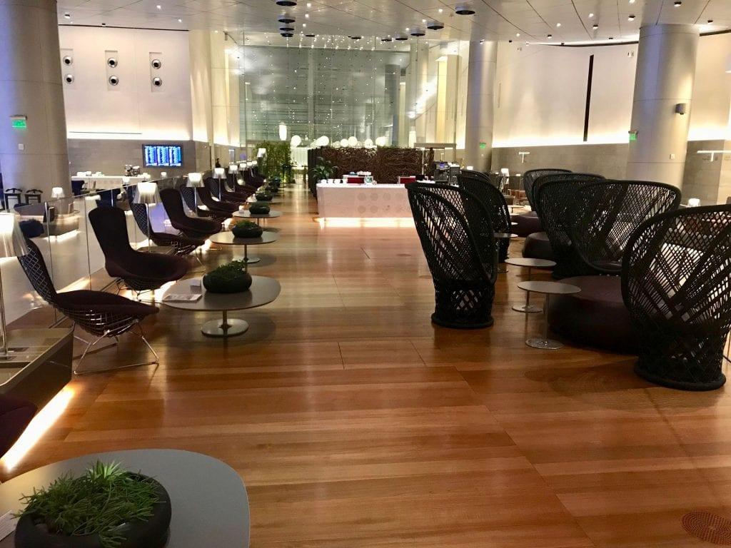 Al Mourjan Business Lounge Doha Sitzgelegenheiten