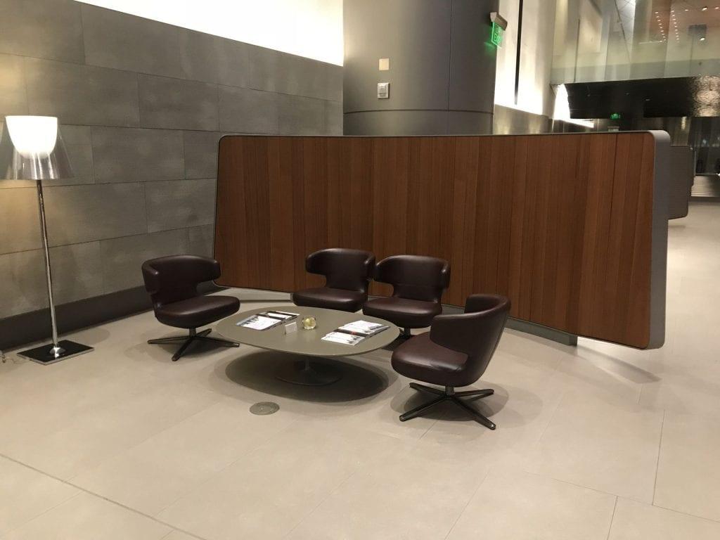Al Mourjan Business Lounge Doha Sitzgelegenheiten 2