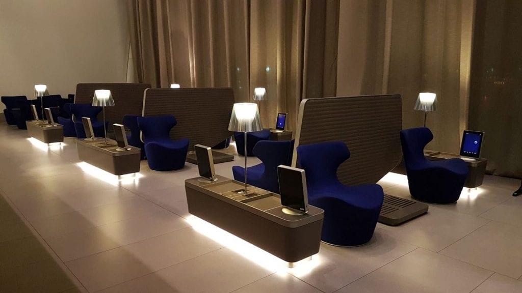 Al Mourjan Business Lounge Doha Sitzmöglichkeiten