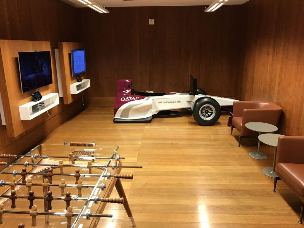 Al Mourjan Business Lounge Doha Spieleraum