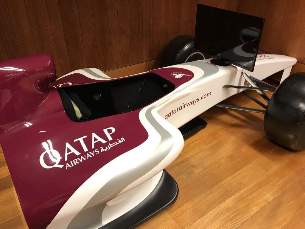 Al Mourjan Business Lounge Doha Spieleraum 2